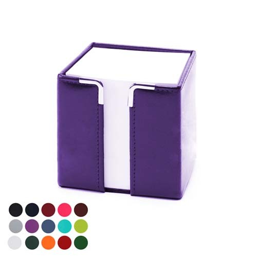 Tall Pad Block Holder In A Choice Of Belluno Colours, Black, Blue, Blue, Blue, Blue, Blue, Purple, Red, Red, Red, Pink, Pink, Yellow, Green, Green, Green, Green, Orange, White, Brown, Brown, Brown,