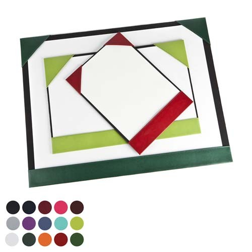 A3 Desk Pad Blotter In A Choice Of Belluno Colours, Black, Blue, Blue, Blue, Blue, Blue, Purple, Red, Red, Red, Pink, Pink, Yellow, Green, Green, Green, Green, Orange, White, Brown, Brown, Brown,
