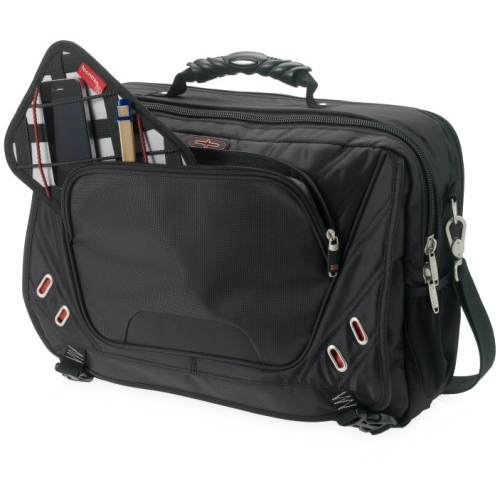 Proton Checkpoint-Friendly 17'' Computer Messenger, Black,