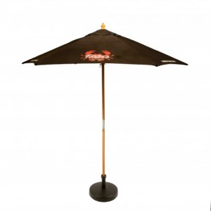 2.5M Wooden Parasol, White, Natural, Yellow, Red, Red, White, Blue, Green, Blue, White, Blue, Black, Black, White