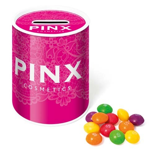 Money Box Tin Skittles