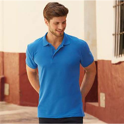 Heavyweight 65/35 polo, Black, Green, Brown, Blue, Grey, Blue, Red, Blue, White