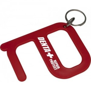 Hygiene Key Ring Tool, hygiene, keyring, hook, safety