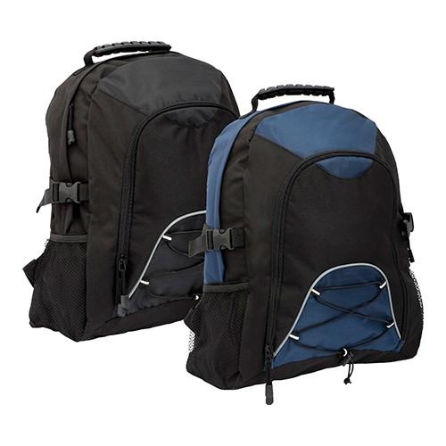 Hadlow Backpack , Black, Black, Blue