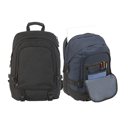Faversham' Laptop Backpack , Black, Blue