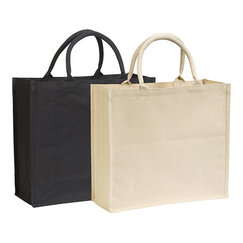 Broomfield' 7oz  Cotton Canvas Tote, black