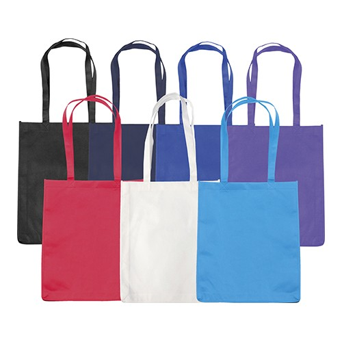 Chatham' Budget Tote/Shopper Bag, black, blue, blue, blue, purple, red, white