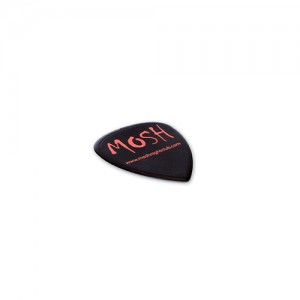 Recycled Guitar Plectrum, red, black, blue, purple, white, yellow, green, eco