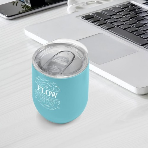 Flow cup, cups, metal, insulated, travel