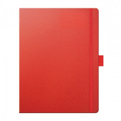 Large Notebook Plain Paper Matra , Black, Blue, Red, Purple, Pink, Blue